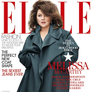 Melissa McCarthy 'Elle' Cover Sparks Controversy Over Her Hidden Body