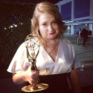 Merritt Wever Wins Oustanding Supporting Actress in a Comedy Series, Gives Shortest Speech Ever At Emmys