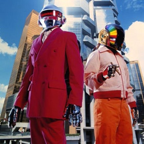 Daft Punk Releases New Single: 'Get Lucky' Feat. Pharrell Williams