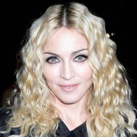 Madonna Gets A Birthday Kiss From Brahim Zaibat
