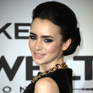 Lily Collins Most Hazardous To Search Online, Says McAfee