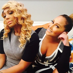 Chris Brown Starts Feud With 'The Real's Tamar Braxton And Adrienne Bailon
