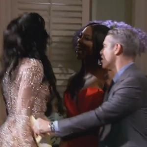 'Real Housewives Of Atlanta' Reunion Turns Violent When Porsha Williams Blacks Out And Attacks Kenya Moore