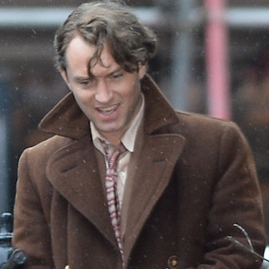 Jude Law Films 'Genius' With Colin Firth