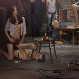 Shia Lebeouf Poses Shirtless For New Film Nymphomaniac