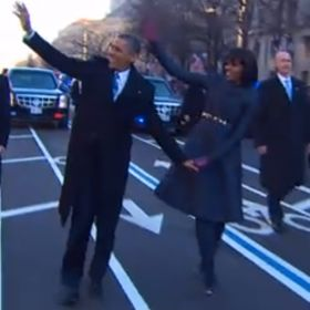 PHOTO: Michelle Obama Stuns At Inauguration In Thom Browne Dress