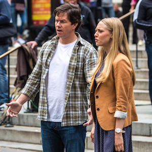 Mark Wahlberg & Amanda Seyfried Film 'Ted 2' In New York City