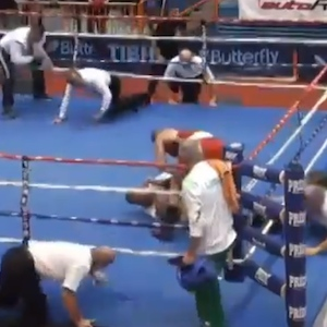 Vido Loncar, Croatian Boxer, Attacks Ref, Gets Lifetime Ban