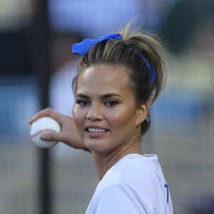Chrissy Teigen Tweets 'I'm Pretty Drunk' Before Throwing Out First Pitch At Dodgers Game