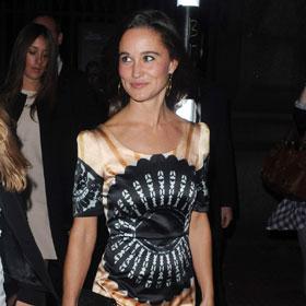 Pippa Middleton Sparkles In London