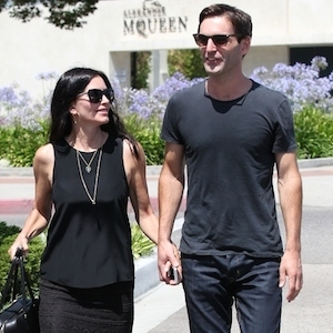 Courteney Cox Engaged To Snow Patrol's Johnny McDaid