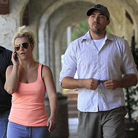 David Lucado Joins Girlfriend Britney Spears For A Coffee Date
