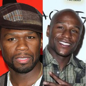 50 Cent And Floyd Mayweather Feud Over ALS Ice Bucket Challenge Continues