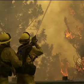 Yosemite Fire: Flames Reach National Park; Nearby Homes In Danger