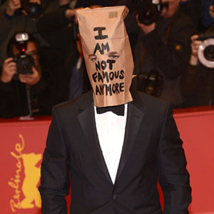 Shia LaBeouf Declares 'I Am Not Famous,' Walks 'Nymphomaniac' Red Carpet With Paper Bag Over His Head