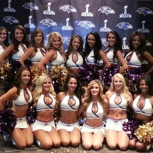 Baltimore Ravens Cheerleader Has Been Released From The Hospital After Falling Mid-Stunt