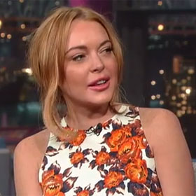 Lindsay Lohan Talks Rehab, 'Scary Movie 5' On 'Late Show With David Letterman'