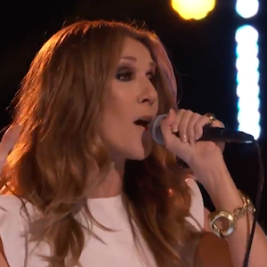 Celine Dion Performs On '˜The Voice'™ With Winner Tessanne Chin & Ne-Yo