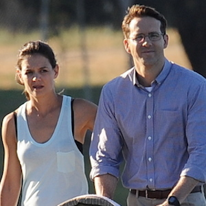 Katie Holmes And Ryan Reynolds Film 'Woman In Gold'