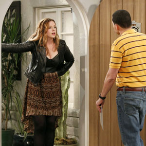'Two And A Half Men' Adds New Lesbian Character Jenny Played By Amber Tamblyn