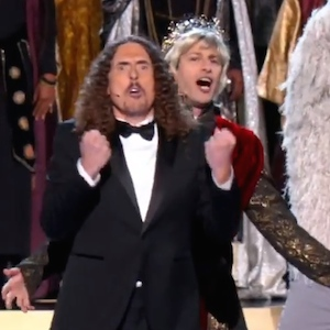 Weird Al Yankovic Performs TV Medley, Makes Fun Of 'Game Of Thrones' With Andy Samberg At Emmys