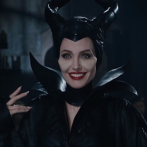 Angelina Jolie And Daughter Vivian In First Maleficent