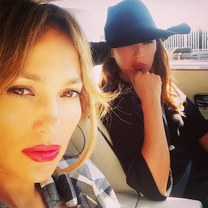 Jennifer Lopez And Leah Remini Rear-Ended By Alleged Drunk Driver With Kids In Car