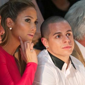 Casper Smart And J.Lo Do Fashion Week