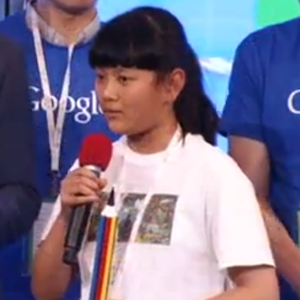 Audrey Zhang, 11, Wins Doodle 4 Google Competition