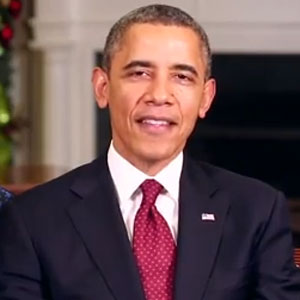 President Obama And Michelle Obama Send Christmas Message